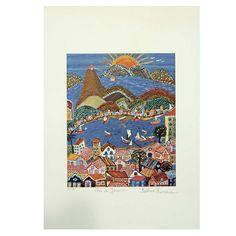 Bárbara Xumaia - Gravura assinada - Uma obra de arte na sua casa por um preço acessível! Etchings, Rio De Janeiro, Moldings, Home, Artworks, Artists