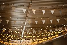 Handmade Bunting with fabric from my Grandma and Great Grandma | Photography by imagovitaphotography.net