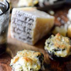 Spinach, Bacon + Artichoke Stuffed Portobellos Recipe