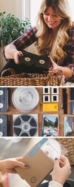 Preserve your aging memories with Southtree, safely and simply. Foto Fun, Cricut, Home Movies, Film Reels, Thing 1, Organization Hacks, Organizing Life, Along The Way, E Design