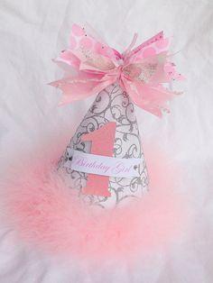 Winter Onederland Birthday Party Hat for Winter Wonderland Party