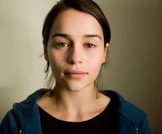 I love makeup and experimenting with all kinds of looks, but there is something really bold and powerful about a bare face, especially in this picture of Emilia Clarke. I don't know what it is exactly, but this picture of her bare face really makes some sort of beautiful, silent statement.