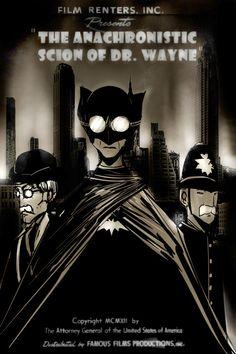 The Anachronistic Scion Of Dr.Wayne