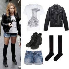 """""""Get the look: Miley's outfits from LOL!"""" by memi-fashion2 on Polyvore"""