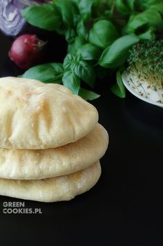 Chlebki Pita Bread And Pastries, Falafel, Hamburger, Workout Ideas, Breakfast, Health, Food, Morning Coffee, Health Care