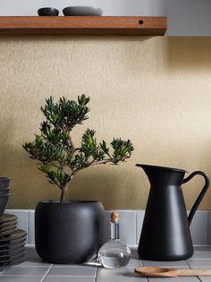 IKEA Livet Hemma - interior design and inspiration for your home Ikea Kitchen, Kitchen Interior, Home Interior Design, Kitchen Decor, Interior Ideas, Black Kitchens, Home Kitchens, Ikea Plants, Vignette Design