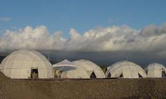 Portable Geodesic Yurts that are Lightweight and Leakproof www.shelter-systems.com/yurt.html