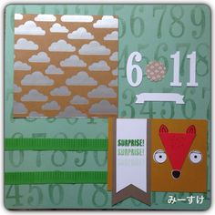 #Stampin up #SU #playful pals #sumthin sumthin  #number of years #in color #scrapbooking
