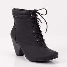 lace up booties #shoes