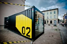 Mobile Design Container by Marta Gawin, via Behance