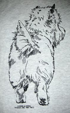 Cairn Terrier Coming Going Hanes T Shirt Adult Unisex Small 5XL | eBay