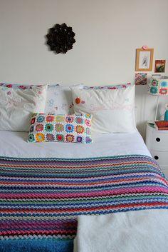 crocheted blanket... love it