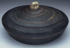 Alaskan Eskimo Native American Indian Baskets, Basketry - Gene Quintana Fine Art - Indian Baskets