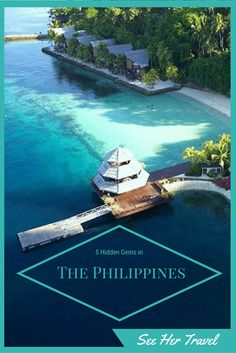 The Philippines is literally made of thousands of islands! Check out 5 of the hidden gems that you can find in this amazingly beautiful country! www.seehertravel.com