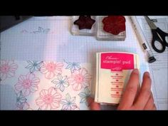 Stampin Up! Clean and Simple Card Idea with Secret Garden using paper piercing and embossing with small folders. Stamping Imperfection. by Judy Beatty Haraseth