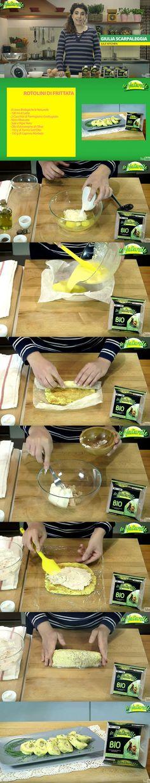 Cena con amici e zero idee? Prova la ricetta di #rotolini di #frittata, realizzata nella #cucina #leNaturelle con Giulia Scarpaleggia! La ricetta è semplice, ma il successo è assicurato. Ingredienti: 8 uova biologiche le Naturelle; 100 ml di latte; 2 cucchiai di parmigiano grattugiato; noce moscata; sale e pepe q.b.; olio evo; 150 gr tonno sott'olio; 150 gr di caprino morbido.