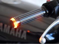 "Motogadget M-Blaze ""Disc"" LED Turn Signals | Revival Cycles"