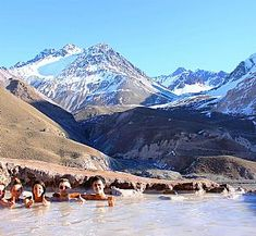 Hot springs near Atacama