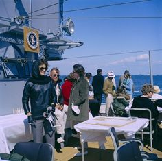 KN-C24180. First Lady Jacqueline Kennedy Attends Fourth America's Cup Race - John F. Kennedy Presidential Library & Museum