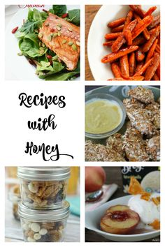 In honor of sticky fingers everywhere, we bring you some recipes with honey from our featured food bloggers.