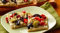 Now all your guests can enjoy these delicious appetizers, thanks to Pillsbury® Gluten Free refrigerated pizza crust dough.