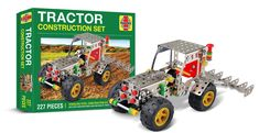 Have hours of fun while learning the technical and mechanical diversity of modelling. A perfect gift for adults or children and for father and son prime time. Features easy to follow, clear instructions. Includes high quality, stainless steel pieces and specialist tools Tractor. Childrens Gifts, Prime Time, Father And Son, Diversity, Tractors, Construction, Stainless Steel, Tools, Learning