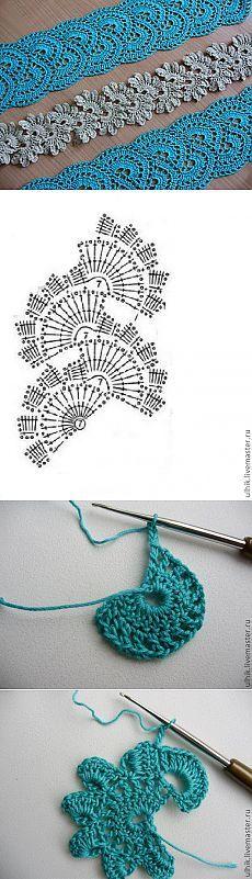 MK-knit tape lace crochet.  - Fair Masters - handmade, handmade