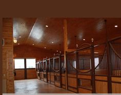 Tongue and groove can really spice up a barn.