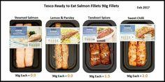 Tesco salmon Slimming World Tesco, Slimming Workd, Lemon Salmon, Sweet Chilli, Syn Free, Salmon Fillets, Spices, Veggies