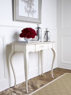 Beautiful Red Hallway Table