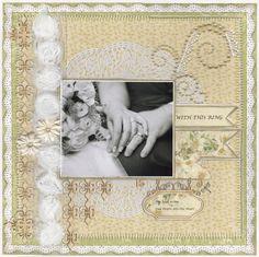 With this Ring....Wedding Album - Scrapbook.com