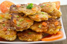 Stamp & Go {Jamaican Codfish Fritters} via www.lovelypantry.com