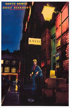 Ziggy Stardust has come to Earth! A great poster for any David Bowie fan! Ships fast. 11x17 inches. Check out the rest of our amazing selection of David Bowie posters! Need Poster Mounts..?