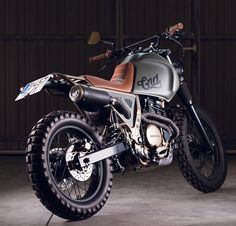 Honda Nx650, one of my favorites by Cafe Racer Dreams