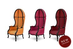 NAMIB   Modern Upholstered Armchair by @BRABBU, spring, summer, decor ideas, satin cotton, stained ash wood