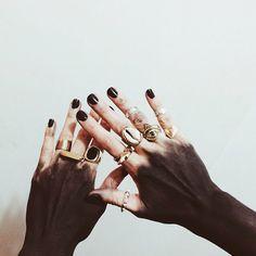 Embellished hands