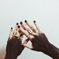 Embellished hands