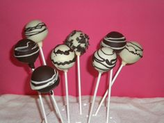 Cakes Pop de chocolate