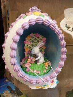 The Eggscellent World of Easter Egg Dioramas Panoramic Sugar Easter Eggs, Sugar Eggs For Easter, Easter Candy, Easter Gift, Egg Crafts, Easter Crafts, Easter Decor, Easter Ideas, Easter 2020
