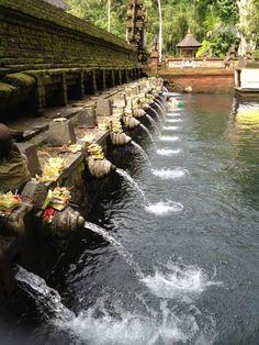 Pura Tirta Empul (Tirta Empul Temple) in Gianyar, Bali