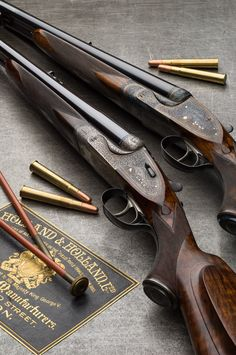 A brace of Holland & Holland .375 Flanged Magnum 'Royal' double rifles