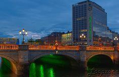#hdr #Dublin #Irland #Liffey #OConnellBridge HDR-Fotografie www.Loopzone.de