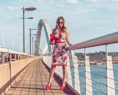 """6,208 curtidas, 45 comentários - Luíza Maria Holanda de Mello (@lulymello) no Instagram: """"Adoro atravessar a terceira ponte de vestido e salto. 😂 Brincando, lógico! Mas com esse look lindo…"""""""