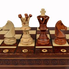 Classy Ambassador Chess Set and Board