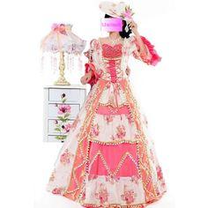 4b416c7a45b Goth Lolita Southern Belle Dresses Masquerade Halloween Costumes for Women  SKU-2010107 Masquerade Halloween Costumes