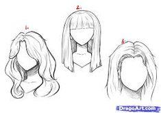Как нарисовать волосы человека - Поиск в Google