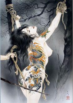 Shibari + Ink + bondage