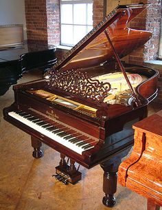 Beethoven Playing Piano | Steinway model B Grand Piano for sale.