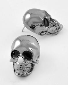 """pewter finish 1 inch""""tall"""" heads- have 1 pair to offer for sale by requests"""