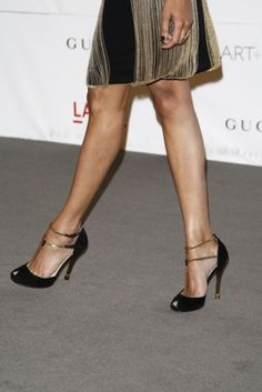 Gucci Spring 2012 Peep Toe Pumps - Zoe Saldana (a favourite #fashion repin of www.vipfashionaustralia.com )